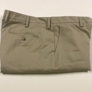 GREG NORMAN SHARK Tan Golf Shorts Mens 40